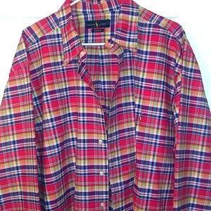 Polo Ralph Lauren mens plaid button down